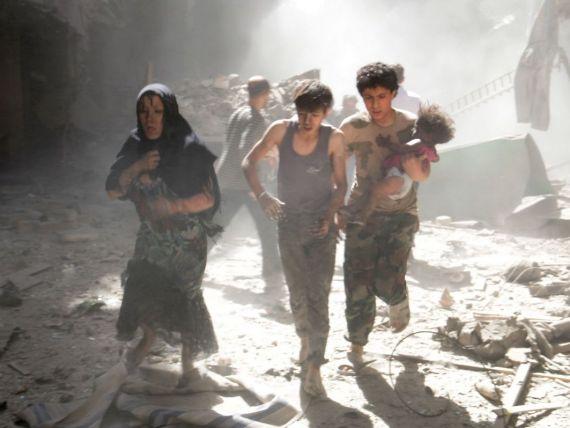 ONU: Numarul refugiatilor sirieni a depasit 3 milioane. Presiunea asupra economiilor tarilor-gazda este  enorma. Criza siriana, cea mai mare urgenta umanitara