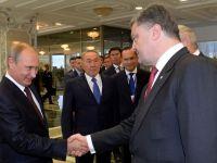 Kievul anunta ca Putin si Porosenko au ajuns la un acord privind un armistitiu in Ucraina. Reactia Rusiei