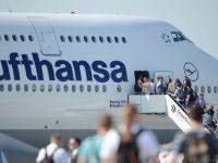 Aeroporturile germane sunt in greva. Lufthansa a anulat peste 500 de zboruri europene