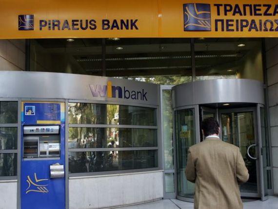 Rata creditelor neperformante a Piraeus Bank in Romania a crescut anul trecut de la 18% la 28%