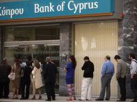 Primele decizii la Bank of Cyprus: 10 procente din depozitele peste 100.000 euro, deblocate. Plafonul pentru tranzactii financiare creste la 25.000 euro