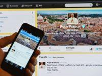 """Papa Francisc a dublat numarul de """"followeri"""" ai contului papal de pe Twitter"""