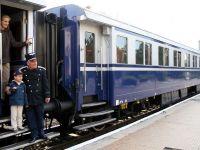 Trenul regal, folosit de Coppola si Sergiu Nicolaescu, la Gara de Nord din Bucuresti