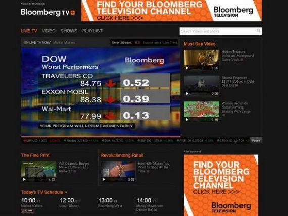 Euronews si Bloomberg vor realiza in parteneriat emisiunea  Business Weekly