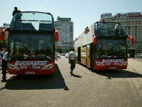Linia Bucharest City Tour, promovata prin harti turistice bilingve, distribuite gratuit in hoteluri