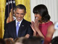 Familia Obama a avut venituri de peste jumatate de milion de dolari in 2012, din care 400.000 dolari a fost salariul presedintelui