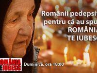 """Romani pedepsiti pentru ca au spus """"Romania, te iubesc!"""". Masacrul de la Fantana Alba, duminica, la ProTV"""
