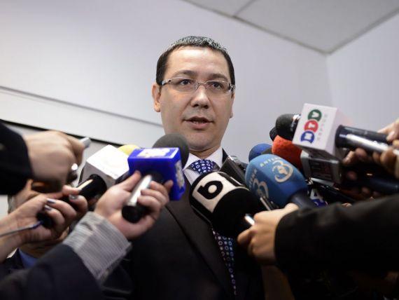 Ponta:  Au fost achitate restantele la Oltchim, dar este o exceptie, nu poti sa platesti fara munca