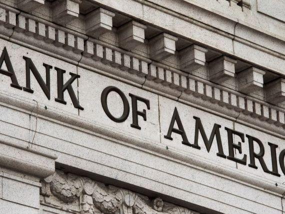 Profitul Bank of America a crescut de patru ori in primul trimestru, la 2,62 miliarde dolari
