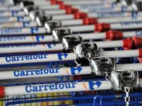 Vanzarile Carrefour au scazut, in primul trimestru, cu 1,3%, la 20,8 miliarde euro
