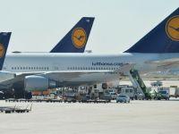 Greva pilotilor germani continua si sambata. Calatorii afectati pot schimba data rezervarii gratuit. Lufthansa a anulat 800 de curse aeriene