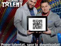 Downloaduri record pe smartphone si tableta pentru aplicatia Romanii au talent, cea mai descarcata din App Store imediat dupa lansare