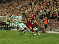 Steaua a remizat cu CFR Cluj, scor 0-0, in etapa a XXVIII-a a Ligii I