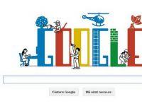 Google sarbatoreste Ziua Muncii, marcata pe 1 mai in multe tari din lume, inclusiv in Romania