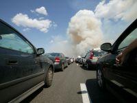 Coloane de kilometri formate de masinile in drum spre litoral sau spre munte