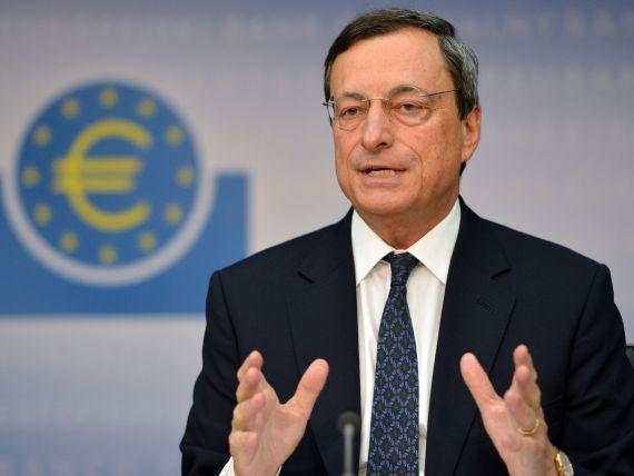 Draghi:  BCE este pregatita sa reduca, din nou, dobanda de politica monetara