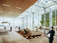 Google incepe de astazi sa isi construiasca propriul terminal de aeroport. Investitie de 82 milioane dolari. FOTO
