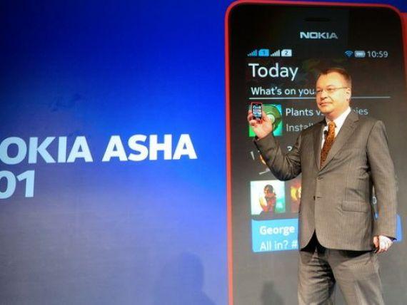 Nokia a lansat telefonul de 99 de dolari, cu ecran tactil si conexiune la internet, cu care spera sa se salveze