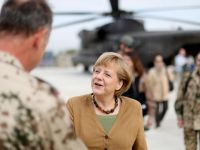 Angela Merkel, intr-o vizita-surpriza in Afganistan