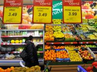 Preturile au crescut in aprilie cu numai 0,11%, dar rata anuala a inflatiei a urcat la 5,3%. Tigarile, cartofii si citricele s-au scumpit cel mai mult
