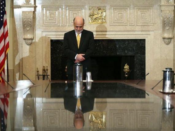 Bernanke:  Stabilitatea economica este o arma cu doua taisuri. Investitorii isi asuma riscuri necugetate