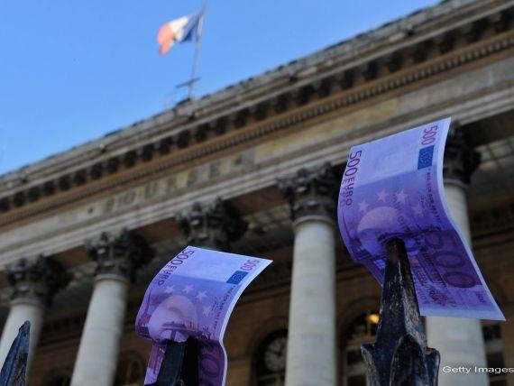 Franta, a doua mare putere a Europei, intra oficial in recesiune. Germania scapa cu o crestere la limita, de doar 0,1%