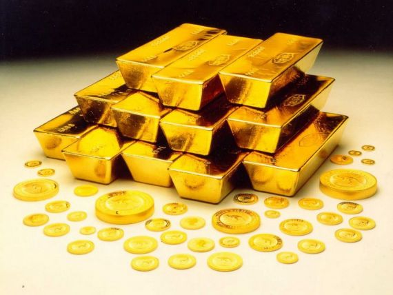 Credit Suisse: Aurul va fi pus la pamant