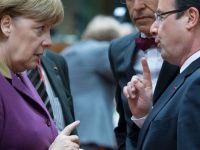 """Hollande vrea sa revolutioneze organizarea UE si propune un guvern economic al zonei euro si """"uniune politica"""". Reactia Berlinului"""