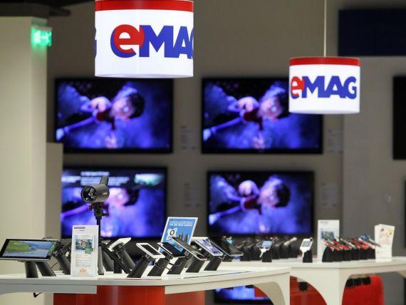Afacerile eMAG.ro au crescut anul trecut cu 13,8%, la 165 milioane de euro
