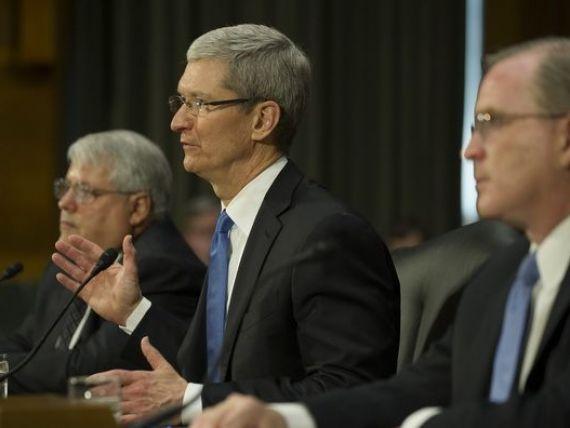 Tim Cook raspunde acuzatiilor in Senatul SUA: Regimul fiscal al Apple nu este un fals