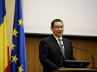 "Ponta: ""In iunie vor fi netezite ultimele asperitati privind durata de absorbtie a banilor UE"""