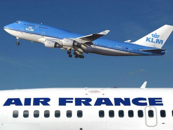 Air France si KLM scot la promotie bilete reduse cu pana la 47%