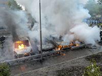 """Revolta urbana a continuat pentru a 5-a noapte la periferia saraca a Stockholmului: """"Suntem pe cale sa devenim ca celelalte tari"""""""