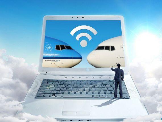 Air France si KLM introduc Wi-Fi la bordul avioanelor. Grupul aerian a transportat anul trecut 500.000 de pasageri din si spre Romania