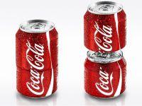 Coca-Cola lanseaza pe piata doza ce poate fi desfacuta in doua. VIDEO
