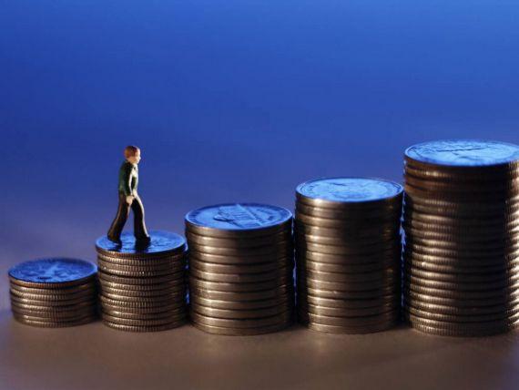 Salariul mediu net a crescut in aprilie cu 2,7%, la 1.661 lei