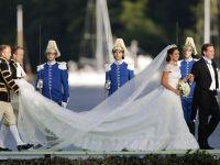Printesa Madeleine, fiica cea mica a regelui Suediei, s-a casatorit