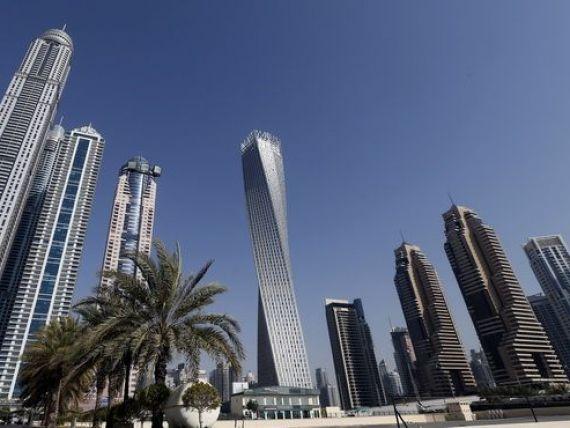 Dubai, capitala recordurilor. Dupa cea mai inalta cladire din lume, arabii au inaugurat cel mai inalt turn in spirala din lume. VIDEO