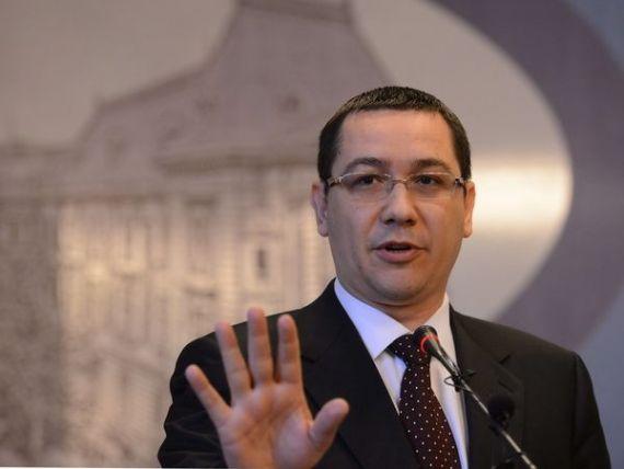 Ponta: Nu cerem derogari la FMI. Mai avem anuntarea castigatorului la CFR Marfa, cu toate celelalte suntem in regula