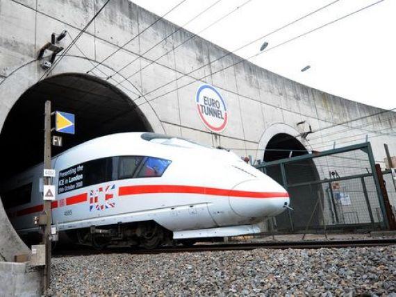 Compania feroviara de stat din Germania intra pe sub Canalul Manecii, facand concurenta francezilor de la Eurostar