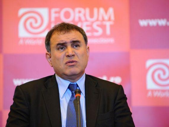 Roubini:  Strategia Fed de reducere a masurilor de stimulare a economiei ar putea fi periculoasa