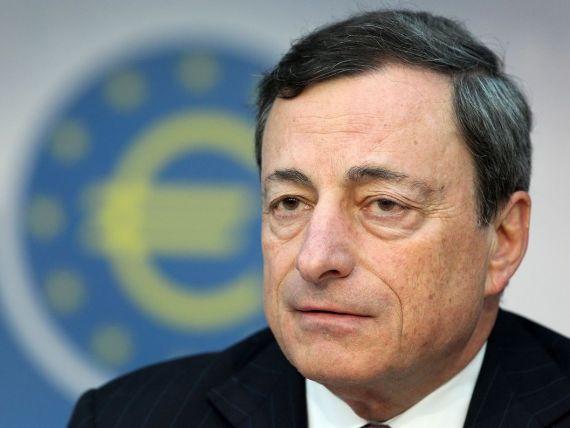 Mario Draghi:  BCE analizeaza noi masuri monetare neconventionale pentru sustinerea economiei europene