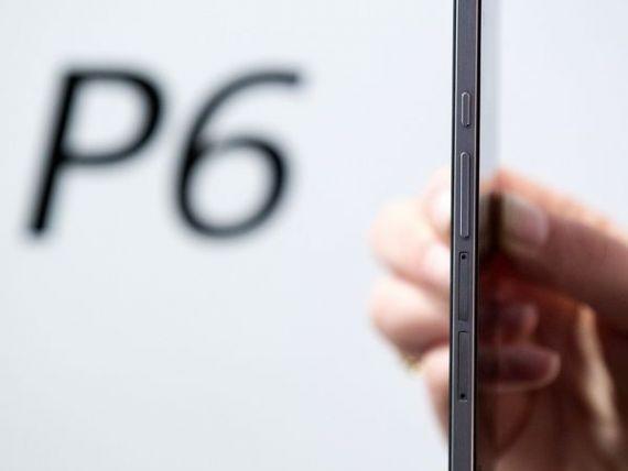 Huawei a lansat mai subtire telefon din lume