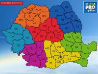 REINVENTEAZA ROMANIA! Deseneaza noua harta a tarii si alege unde vrei sa fie capitalele regiunilor