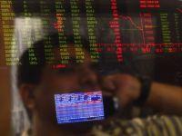 Leul si bursa, in cadere dupa decizia Fed. Cursul a urcat aproape de maximul anului
