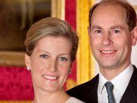 Principele Edward al Marii Britanii si contesa de Wessex sosesc pentru prima data in vizita in Romania