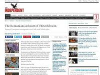 """Exista si romani pe care britanicii ii vor. The Independent: Specialistii in IT ar putea deveni un fel de noi """"instalatori polonezi"""""""
