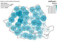 Romania, tara cu peste 18.000 de biserici si 4.000 de scoli. Bacau, judetul cu 666 de lacase de cult