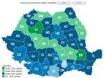 Rezultate Bacalaureat 2013. Harta promovabilitatii