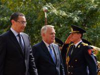 """Ayrault: """"Franta exclude exploatarea gazelor de sist"""". Ponta: """"Asta cu gazele de sist nu mai traducem"""""""